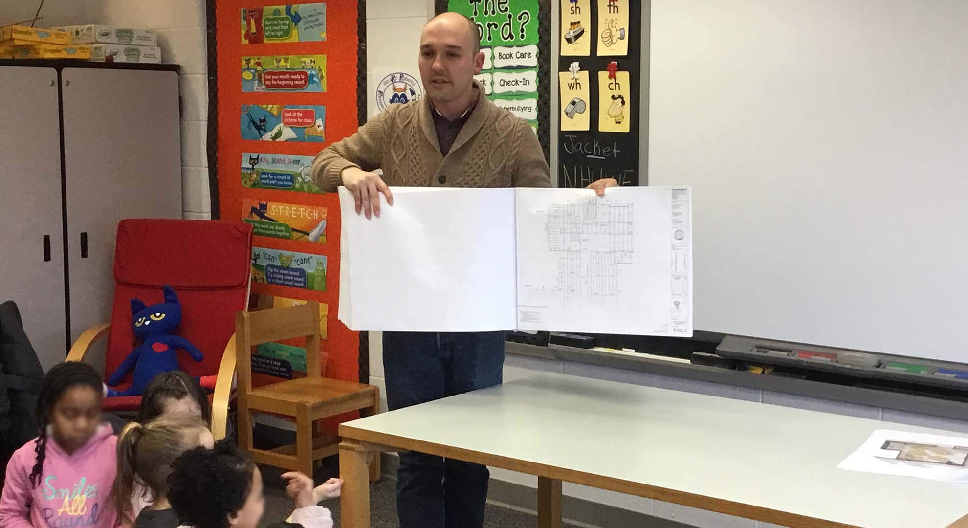 Elementary Classrooms Of The Future ~ Schradergroup project architect helps kick off quot classrooms