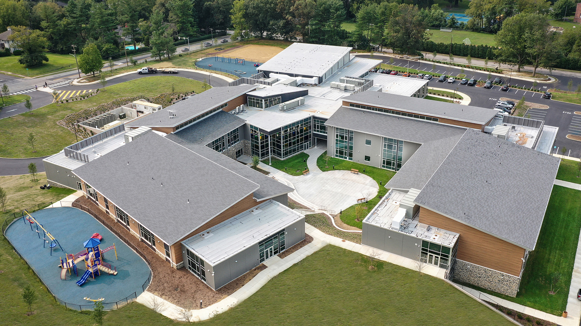 Aerial_SCHRADERGROUP_Learning-By-Design-Spring-2021-Outstanding Project-Enfield-ELC-SDST