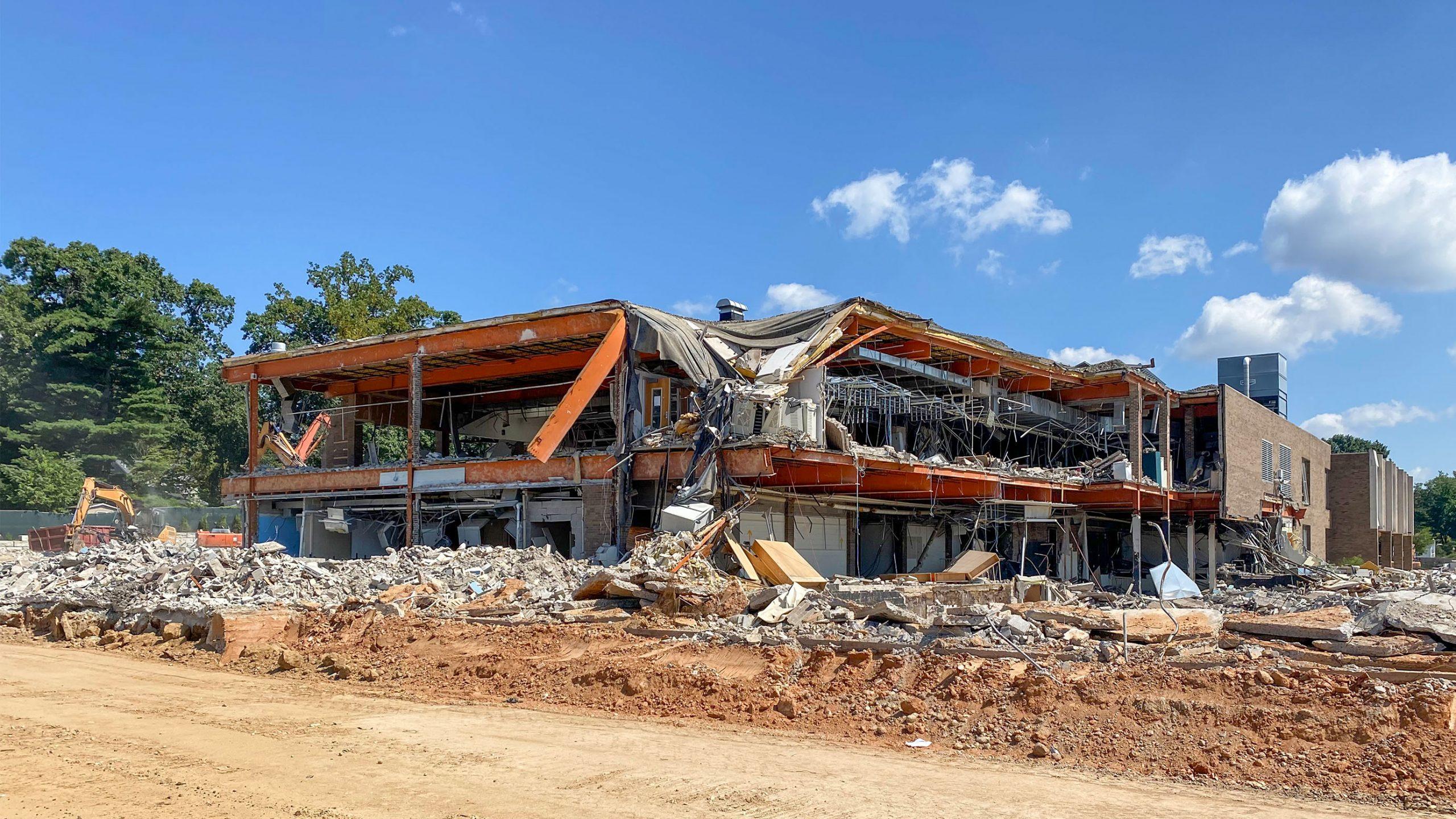 1-Springfield-High-School-Demo-Bleacher_SCHRADERGROUP_Summer-Construction-Progress