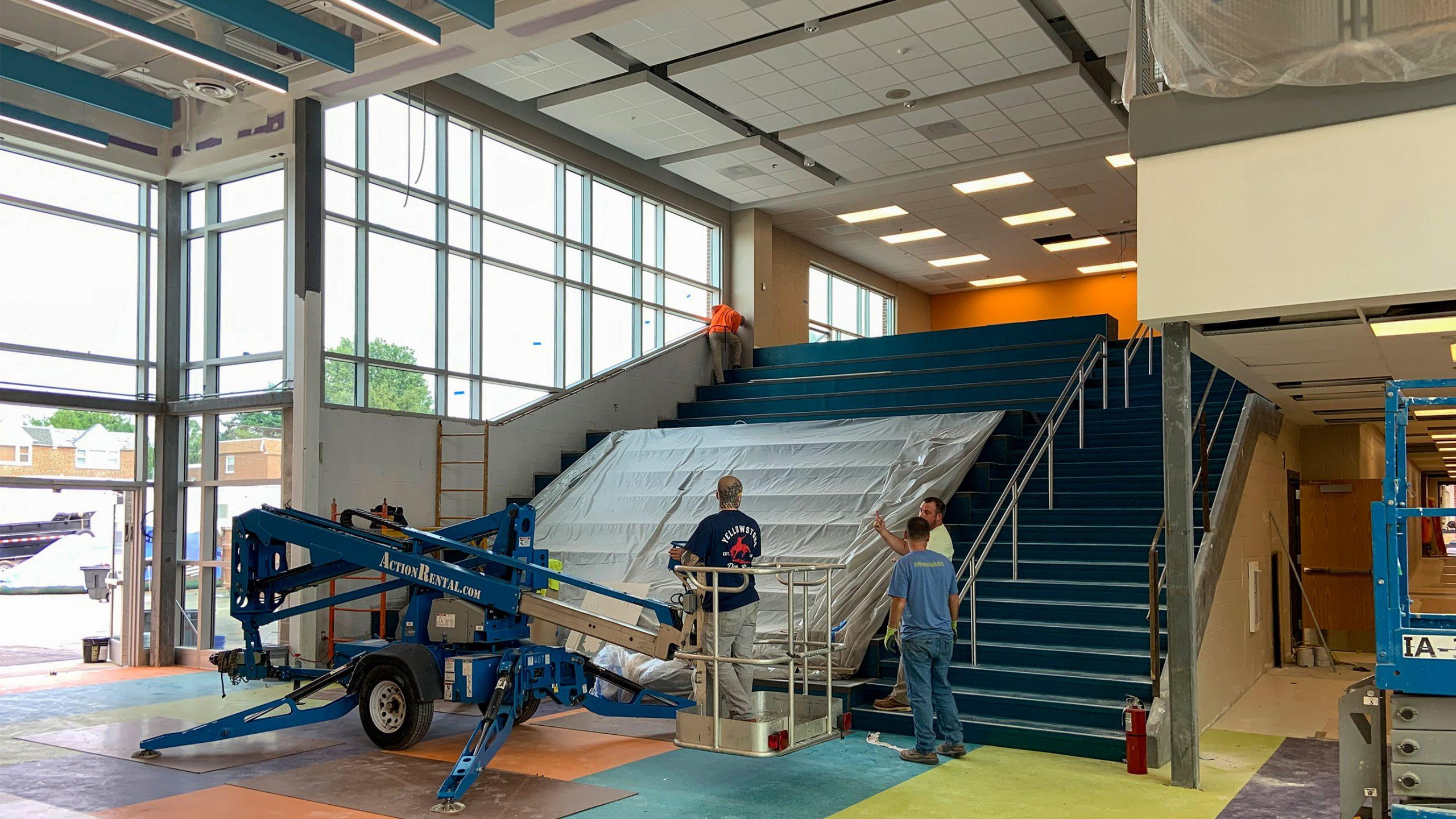 2-Anne-Frank-Elementary-School_School-District-of-Philadelphia_SCHRADERGROUP_Summer-Construction-Progress