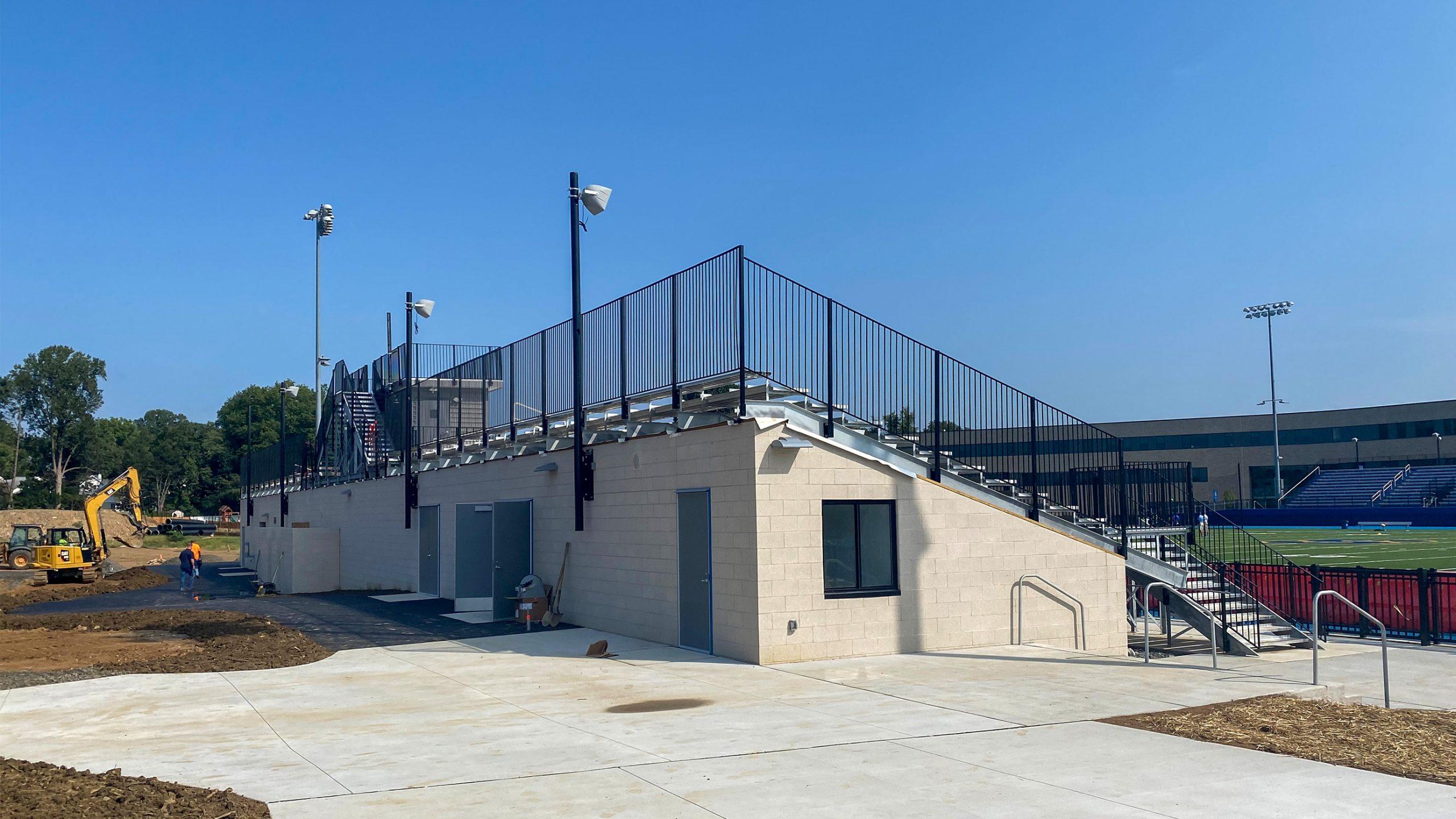 3-Springfield-High-School-Demo-Bleacher_SCHRADERGROUP_Summer-Construction-Progress